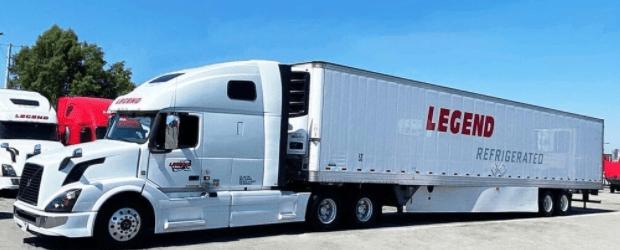 legend transportation refrigerated truck