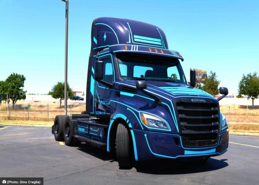 New Legend energizes local lanes, ordering 50 Freightliner eCascadias